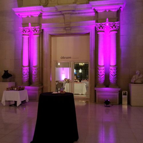 iluminación eventos Barcelona