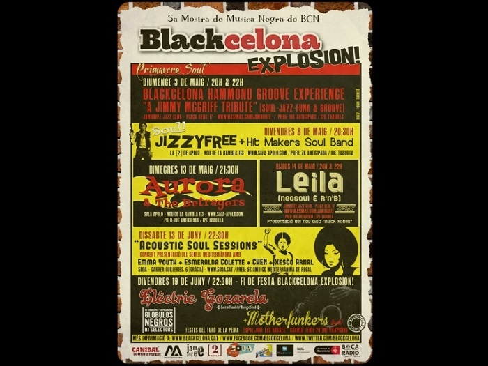 BLACKCELONA EXPLOSION! VOL.5